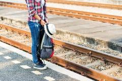 Женщины путешественника Стоковое Фото