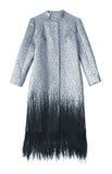 женщины роскоши пальто стоковые изображения rf