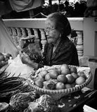 Женщины рынка Стоковое фото RF