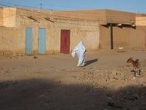 женщины села вуали улицы скрещивания Стоковые Изображения RF