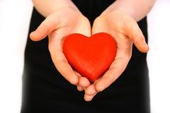 женщины сердца Стоковое Изображение RF