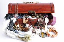 женщины сокровища коробки s стоковое изображение