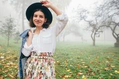 Женщины стиля моды Стоковая Фотография RF