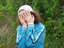 женщины страха молодые Стоковая Фотография