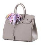 женщины сумки s предпосылки белые Стоковые Фотографии RF