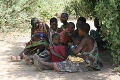 женщины Танзании семей Африки Стоковое Изображение