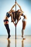 Женщины танцульки Поляк Стоковые Изображения