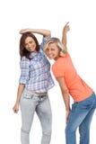 Женщины танцуя совместно Стоковое Фото