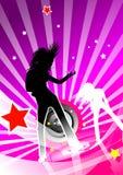 женщины танцы Стоковое Изображение