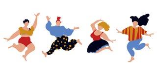 Женщины тела pozitive скача бесплатная иллюстрация