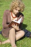 женщины тетради дела Стоковое Фото