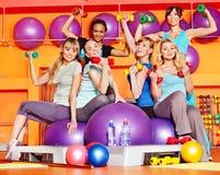 женщины типа aerobics Стоковое Изображение RF