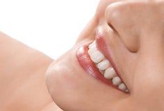 женщины усмешки Стоковое Фото