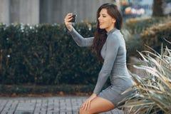 Женщины улицы моды Стоковые Фотографии RF