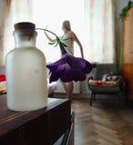 Женщины цветка Стоковые Фотографии RF