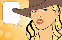 женщины шипучки искусства Стоковая Фотография RF