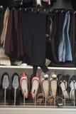 женщины шкафа s стоковые изображения