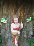 Женщины штукатурки традиционные тайские Стоковая Фотография