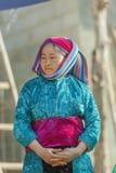 Женщины этнического меньшинства на рынке Стоковые Изображения