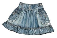 женщины юбки джинсовой ткани s Стоковое фото RF