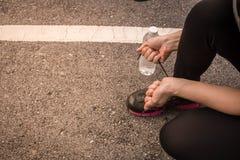 Женщины jogging для здоровья Стоковые Изображения