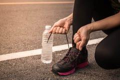 Женщины jogging для здоровья Стоковые Изображения RF
