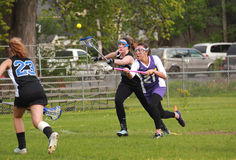 женщины lacrosse Стоковая Фотография RF