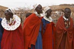 Женщины Masai Стоковые Изображения