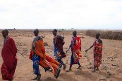 женщины masai Стоковые Фотографии RF