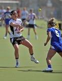 женщины ncaa s lacrosse нестрогие Стоковая Фотография