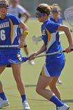 женщины ncaa s lacrosse нестрогие Стоковое фото RF