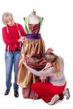 2 женщины tayloring Стоковое Изображение RF