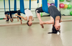 2 женщины yogi Стоковые Фото