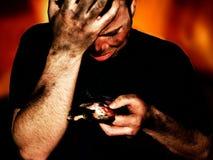 жертва дома пожара Стоковые Фотографии RF