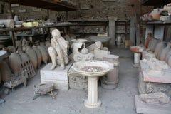 Жертва Vesuvius Стоковое Изображение