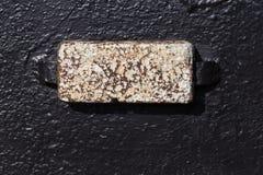 Жертвенные аноды для корабля сильно активные металлы стоковое фото