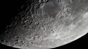 Жестикулируйте луну сток-видео