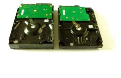 Жесткий диск на внутренние компьютеры 3 Иллюстрация вектора стоковая фотография rf