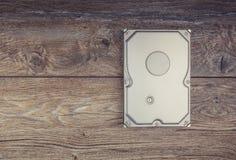 Жесткий диск на таблице Стоковое фото RF