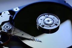 Жесткий диск компьютера открытый Стоковое Фото