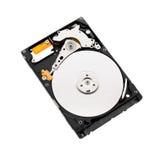 Жесткий диск на белой предпосылке Стоковые Изображения