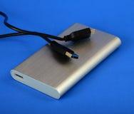 Жесткий диск external USB 3 стоковое изображение