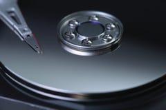 Жесткий диск компьютера Стоковые Фото