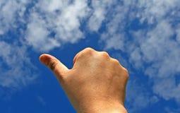 жест дела показывая успех Стоковое Фото
