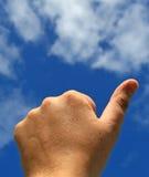 жест дела показывая успех Стоковая Фотография