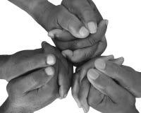 Жест пальцев и рук Стоковые Изображения RF
