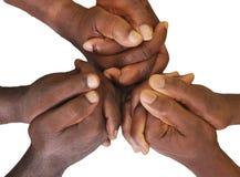 Жест пальцев и рук Стоковые Фото
