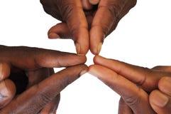 Жест пальцев и рук Стоковая Фотография RF