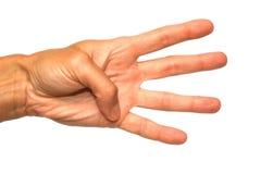 жест популярный Стоковое фото RF