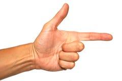 жест популярный Стоковые Фотографии RF